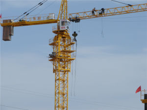 Crane Machinery Made in China by Hsjj-Qtz4810 pictures & photos