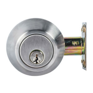 Chrome Stainless Steel Mortise Lock Deadbolt Door Lock pictures & photos