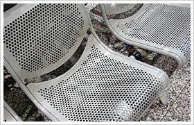 Decoration Powder Coating Galvanized Perforated Metal Mesh