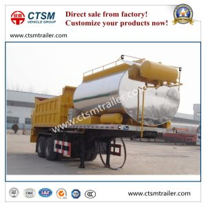 Asphalt Distribution Semi Trailer Bitumen Tanker Truck Trailer pictures & photos