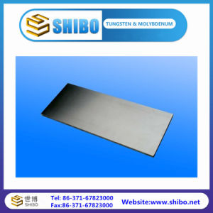 99.95 High Purity Molybdenum Sheet Leading Manufacturer pictures & photos