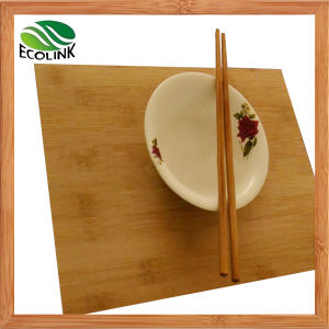 Solid Bamboo Veneer Table Mat or Place Mat pictures & photos