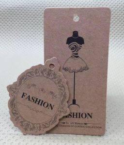 High Quality Kraft Paper Clothes Hang Tags pictures & photos