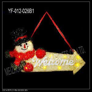 Christmas Letter Brand (YF-012-026B)
