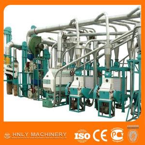 200-300kg/H Maize Flour Milling Plant, Mini Corn Flour Mill pictures & photos