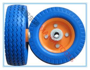 Hot Selling Colorful PU Foam Wheel 6X2 PU Foam Wheel pictures & photos