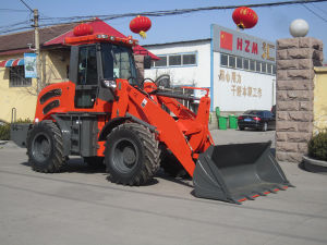 2.8t Popular Front End Loader Hzm 928/Zl28 with Cummins Engine pictures & photos