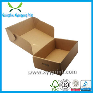 Custom High Quality Strong Cardboard Paper Shoe Box Wholesale pictures & photos