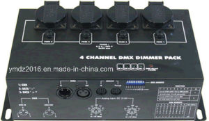 4 Channels DMX Wall Type Dimmer/Switch PAC pictures & photos