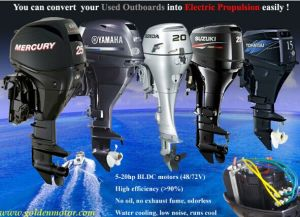 Sell Electric Propulsion Outboard Kit 3HP, 6HP, 10HP, 15p. 20p pictures & photos