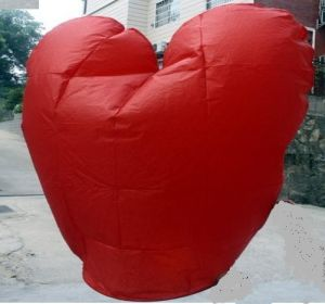 Flying Lantern (kong ming deng) with Heart Shape Sky Laernnt pictures & photos