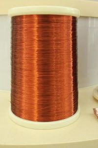 Class 155 Nylon/ Modified Polyester Enamelled Copper Wire pictures & photos