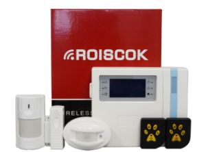 GSM Wireless Home Alarm System with 62 Zones