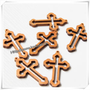 Religious Style and Wood Material Wooden Cross / Wood Crucifix (IO-cw018) pictures & photos