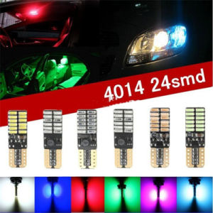 Error Free Canbus LED Light T10 W5w 168 194 W5w LED Headlight T10 4014 12SMD for Autos Cars pictures & photos