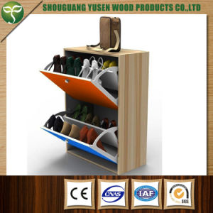 Wood Shoe Rack Cabinet with Good Quality pictures & photos