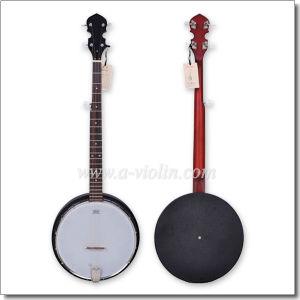 Remo Head 5 Strings Resonator Banjo (ABO165G-BK) pictures & photos