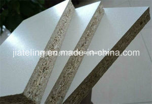 White Color Melamine Faced Chipboard pictures & photos