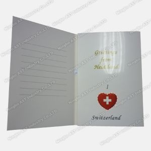 Flashing Birthday Cards, Flashing Paper Cards (S-1106) pictures & photos