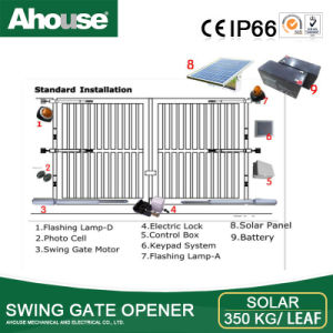 Ahouse DC24V Double Swing Gate Opening System