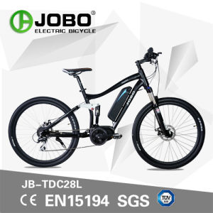 Electric Moped with Pedal Mountain Bafang Crank Motor Bike pictures & photos