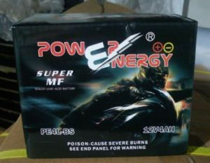 PE4l-BS 12V4ah Sealed Maintenance Free Lead Acid Motorcycle Battery pictures & photos