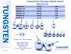 Standard Competitive Price Tungsten Punch Weights pictures & photos