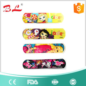 2017 Hot Selling PE Printed Elastic Cartoon Wound Bandage pictures & photos