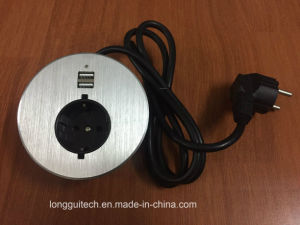 Round Meeting Room Connector Socket Lgt-810 Cable pictures & photos