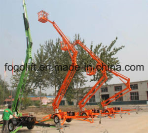 14m Aerial Working Maintenance Articulated Boom Lift pictures & photos