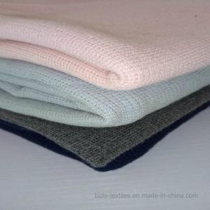 Waffle Elastic/Bamboo Fiber Jacquard/Knitting Fabric/Bamboo Fiber/Bamboo Cotton pictures & photos