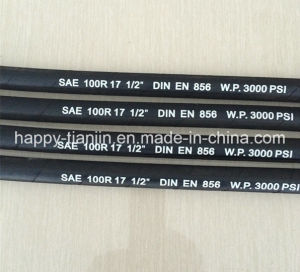 R17 One or Two Wire Braid Flex High Pressure Hose pictures & photos