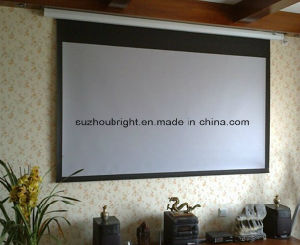 135′′ 300′′ 350′′ 400′′ Electric Projector Screen Motorized Projection Screen pictures & photos