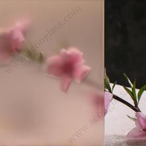 3mm, 4mm, 5mm, 6mm, 8mm, 10mm, 12mm Pink Acid Etched Glass pictures & photos