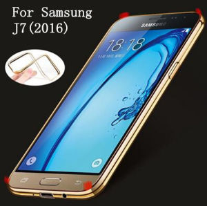 Electroplating Mobile Phone TPU Case for Samsung J7 2016 pictures & photos