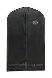 Black PEVA Garment Bag pictures & photos