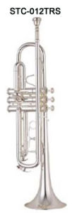 Bb Key Silver Plated Trumpet
