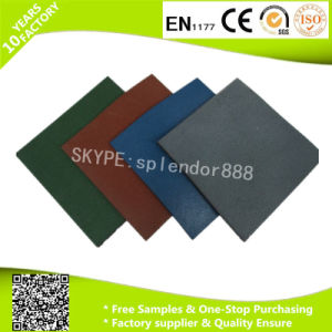 Playground Flooring Rubber Mat pictures & photos