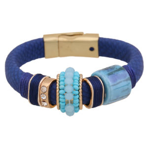 Fashion Accessories Rhinestone PU Leather Bracelet