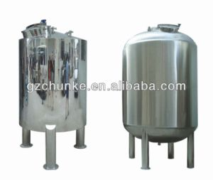 Chunke Polishing Stainless Steel Storage Tank/Water Tank pictures & photos