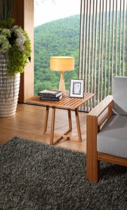 Bamboo Side Table/ End Table pictures & photos