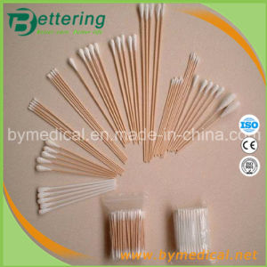 Disposable Medical and Cosmedic Use Wooden Stick Cotton Swab pictures & photos