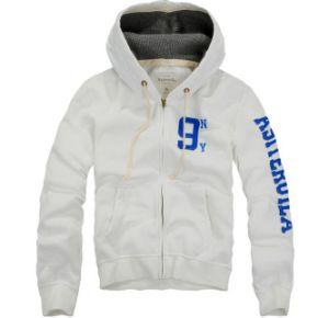 Wholesaler Fashion Design Zipper up Cotton Men Hoodies for Sports pictures & photos