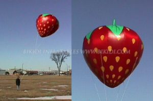 Inflatable Helium Balloon/Balloon in Shape of Strawberry (K7030) pictures & photos