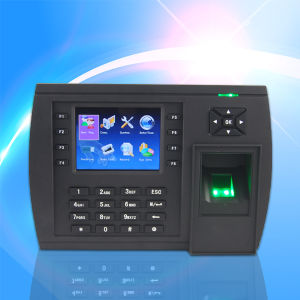 Multimedia Fingerprint Time Attendance System with Functional Key (TFT500) pictures & photos