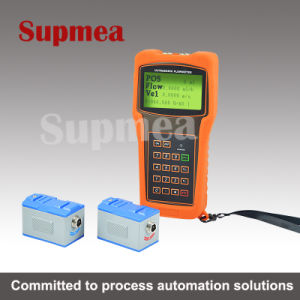 External Power Supply Flow Meter Ultrasonic Clamp Portable Ultrasonic
