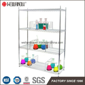 NSF Metal Medicine Storage Display Shelf Rack for Hospital pictures & photos