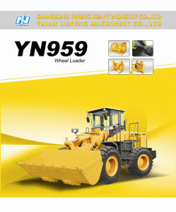 Yn959g Wheel Loader CE EU3 Zf 2. Tcapacity Zl50 pictures & photos