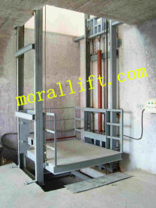 Guide Rail Hydraulic Platform Lift (SJD) pictures & photos