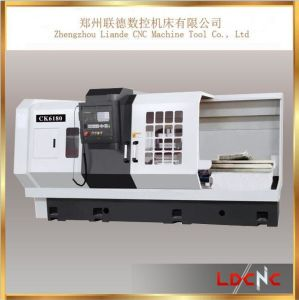 Fanuc / Siemens / GSK System Automatic Flat Bed CNC Lathe pictures & photos